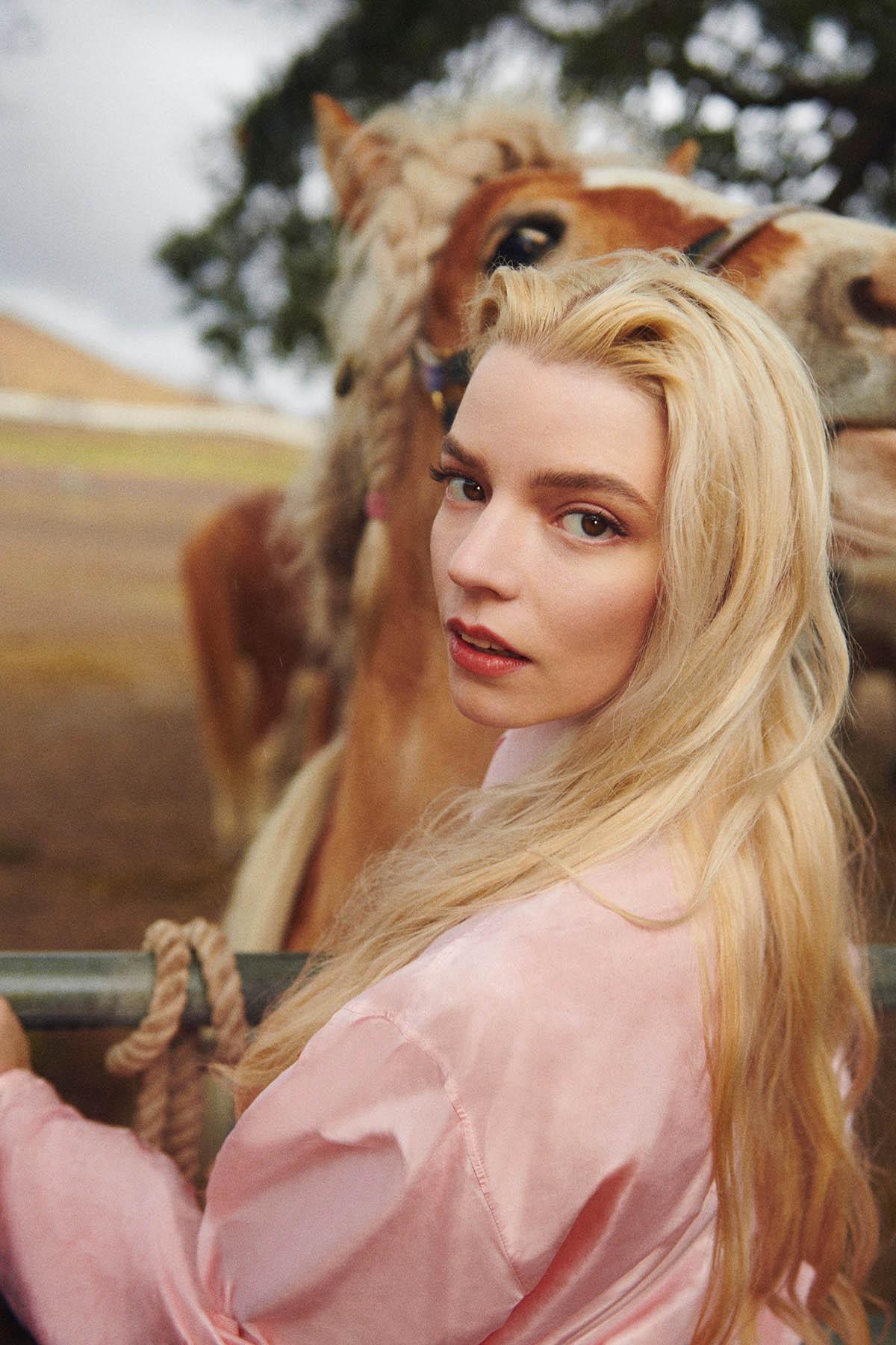 Anya Taylor-Joy covers Vanity Fair April 2021 by Ryan McGinley