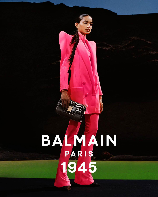Balmain Spring Summer 2021 Campaign