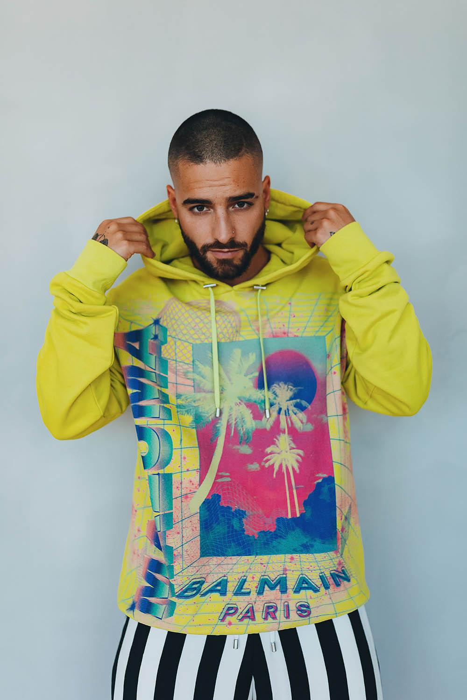 Balmain and Maluma collaborate on a Miami-inspired capsule collection