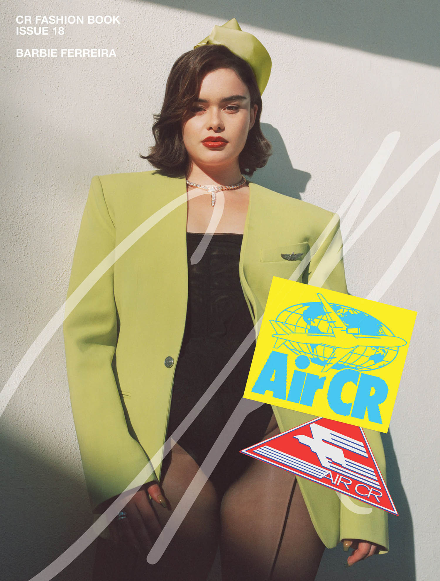 Barbie Ferreira covers CR Fashion Book Issue 18 by Devyn Galindo