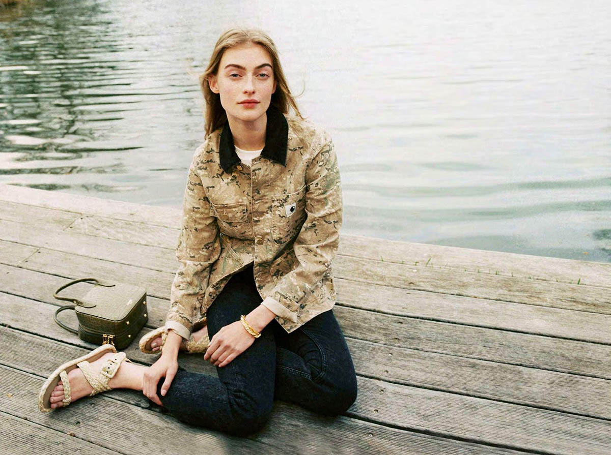 Berit Heitmann by Julia Champeau for Elle France April 2nd, 2021