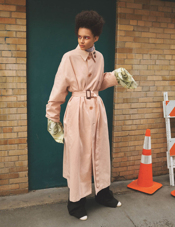 Binx Walton by Craig McDean for British Vogue April 2021