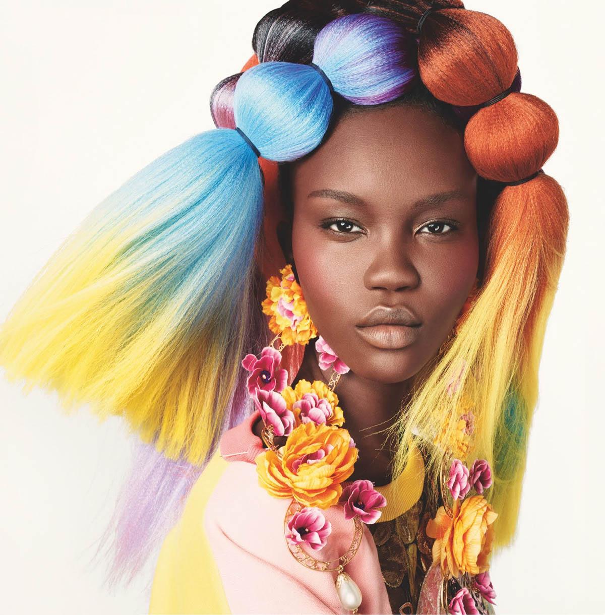 British Vogue April 2021 covers by Steven Meisel