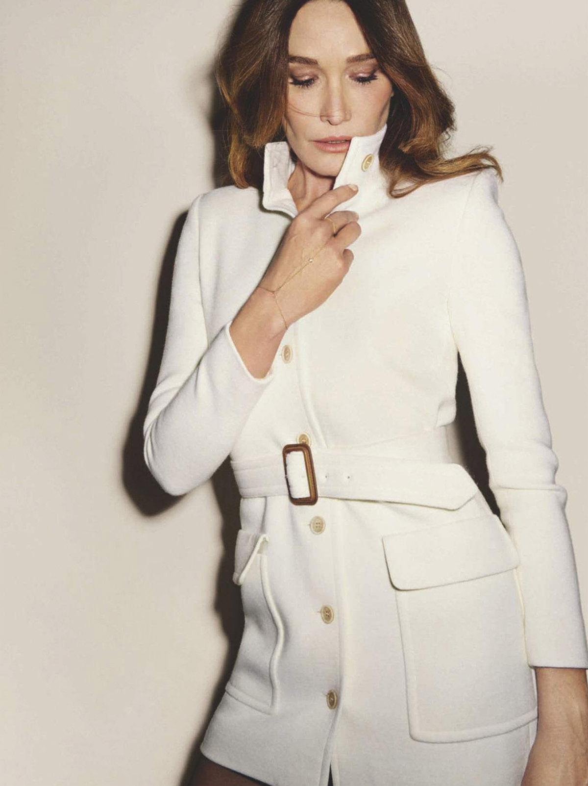 Carla Bruni covers Vanity Fair Spain April 2021 by Ezra Petronio