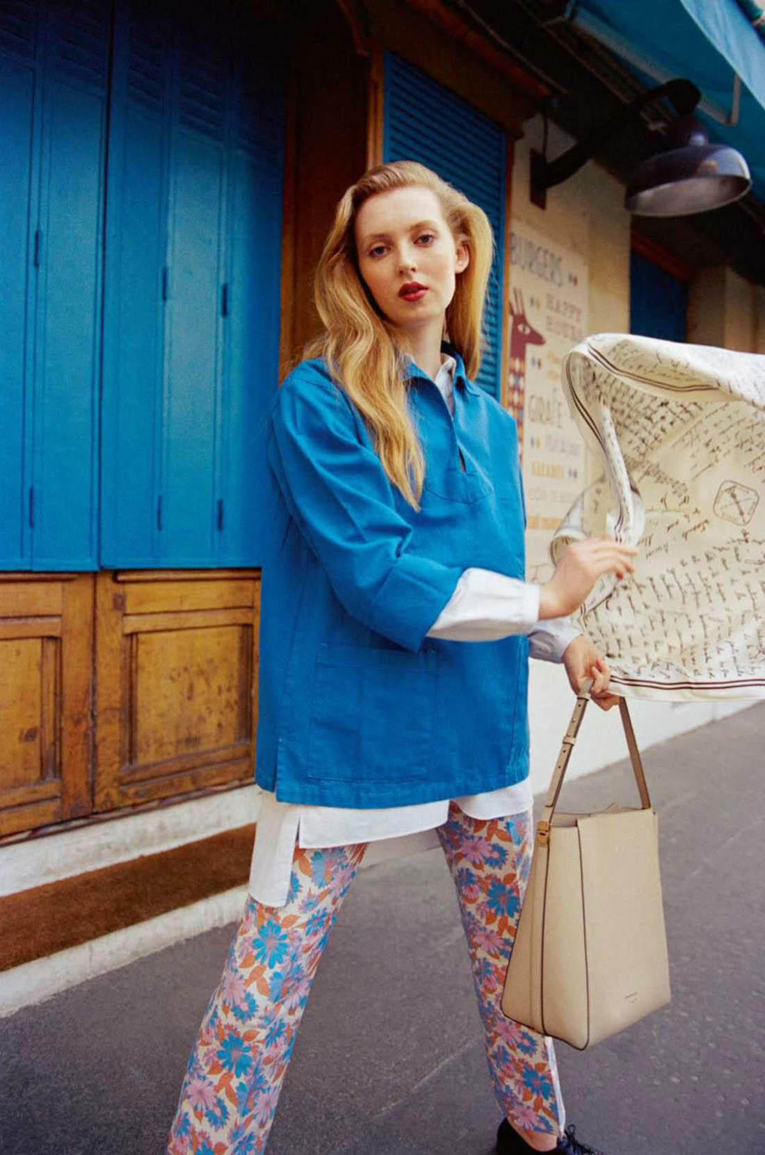 Clara Ruby by Arthur Delloye for Elle France April 9th, 2021