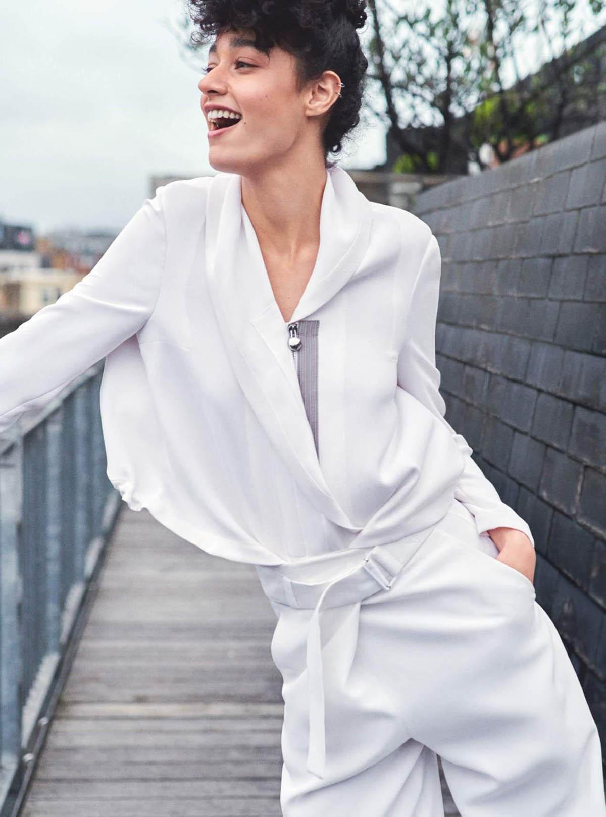 Damaris Goddrie by Jem Mitchell for Harper's Bazaar UK April 2021
