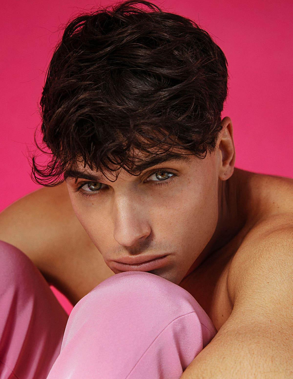 Daniel Illescas covers Man of Metropolis April 2021 by Alejandro Brito