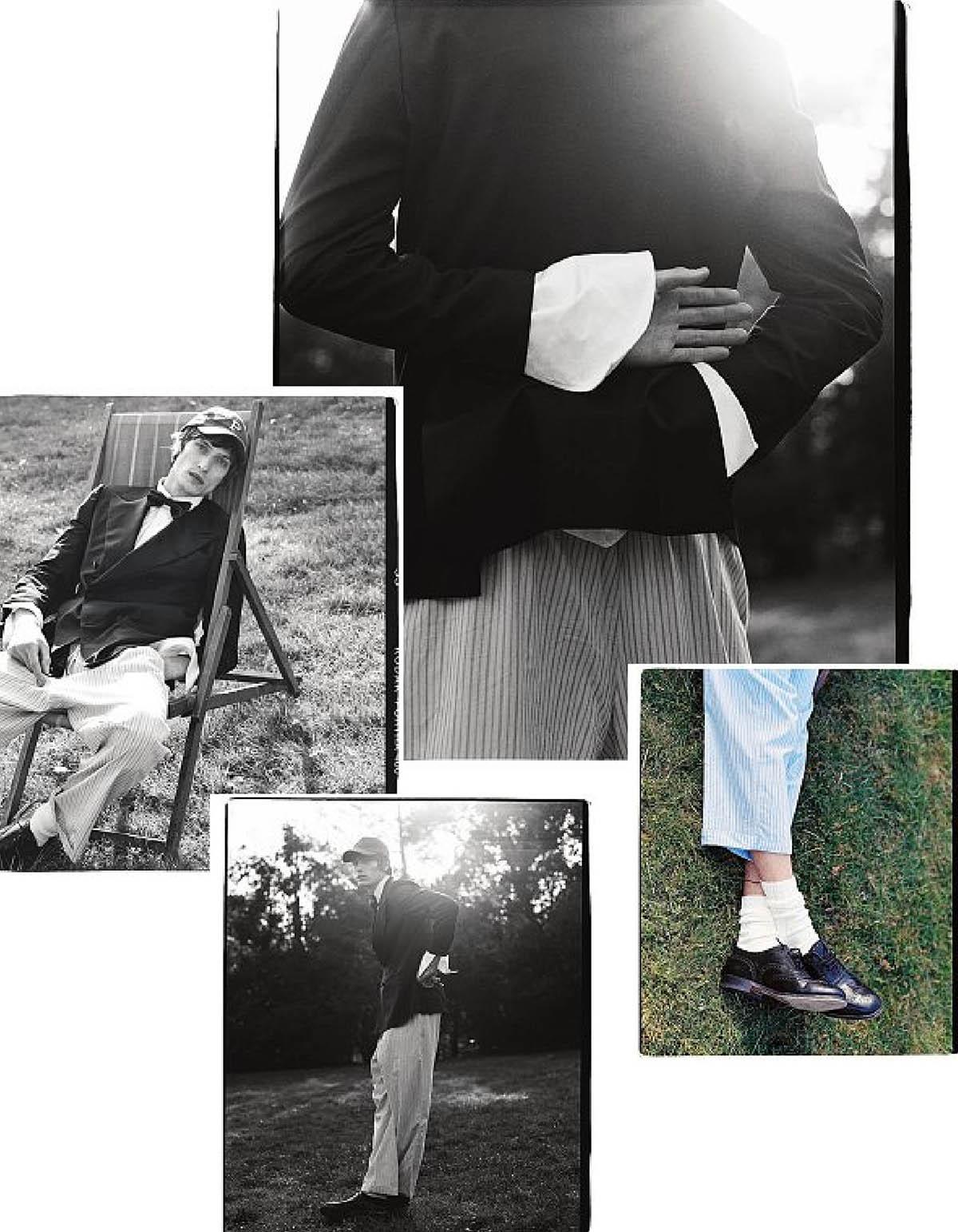 Edoardo Sebastianelli by Carlotta Manaigo for Corriere della Sera Style April 2021