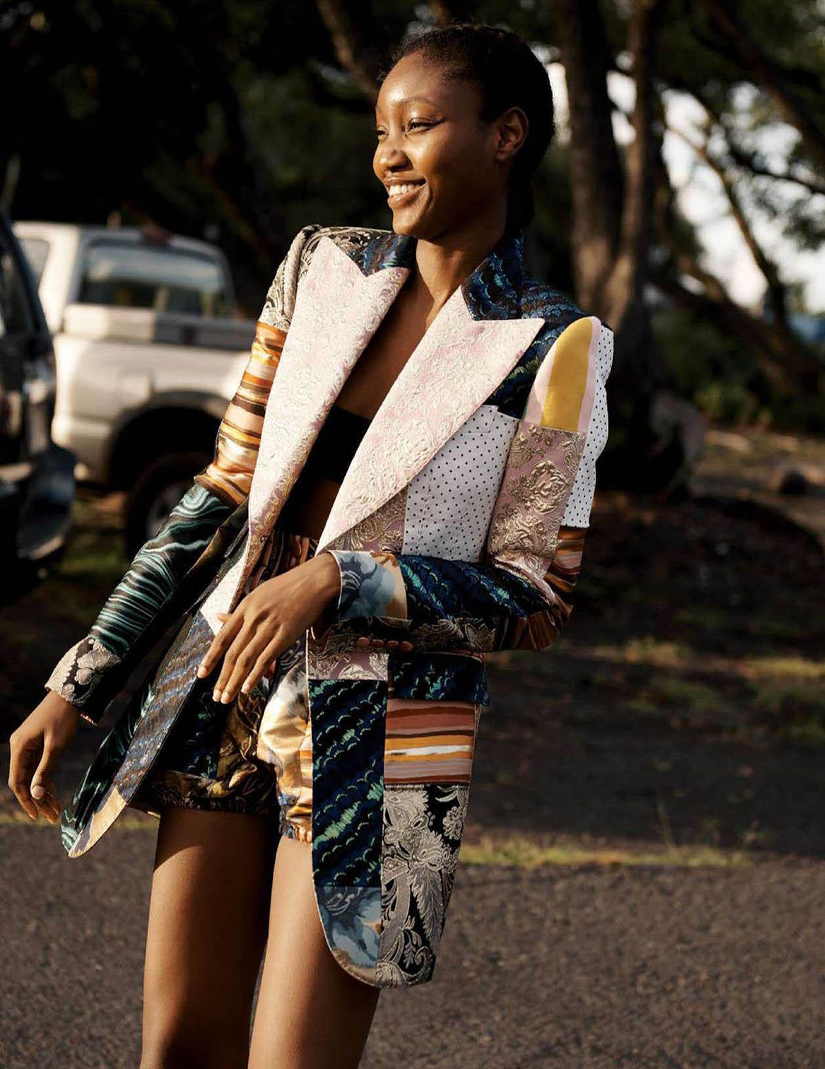 Eniola Abioro by Bridget Fleming for Vogue Mexico & Latin America April 2021