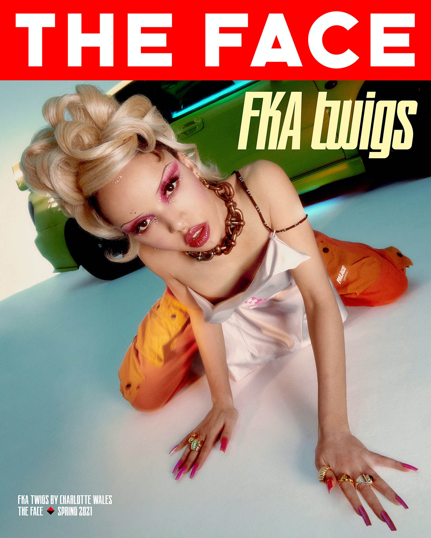 FKA Twigs covers The Face Magazine Spring 2021 by Charlotte Wales