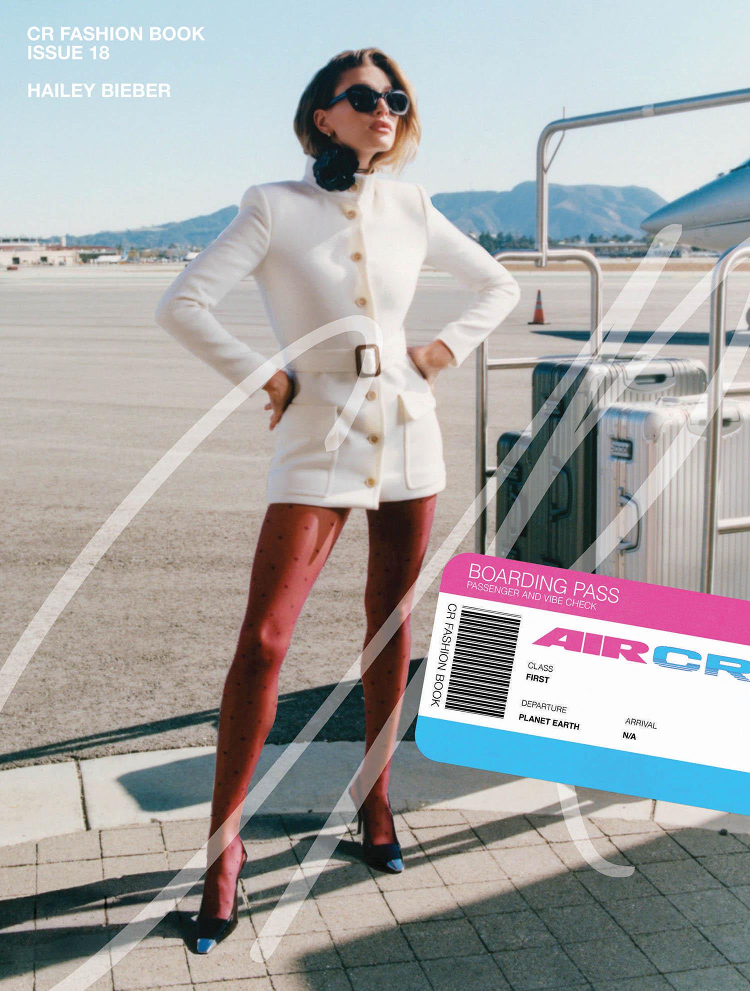 Hailey Bieber covers CR Fashion Book Issue 18 by Daniel Regan
