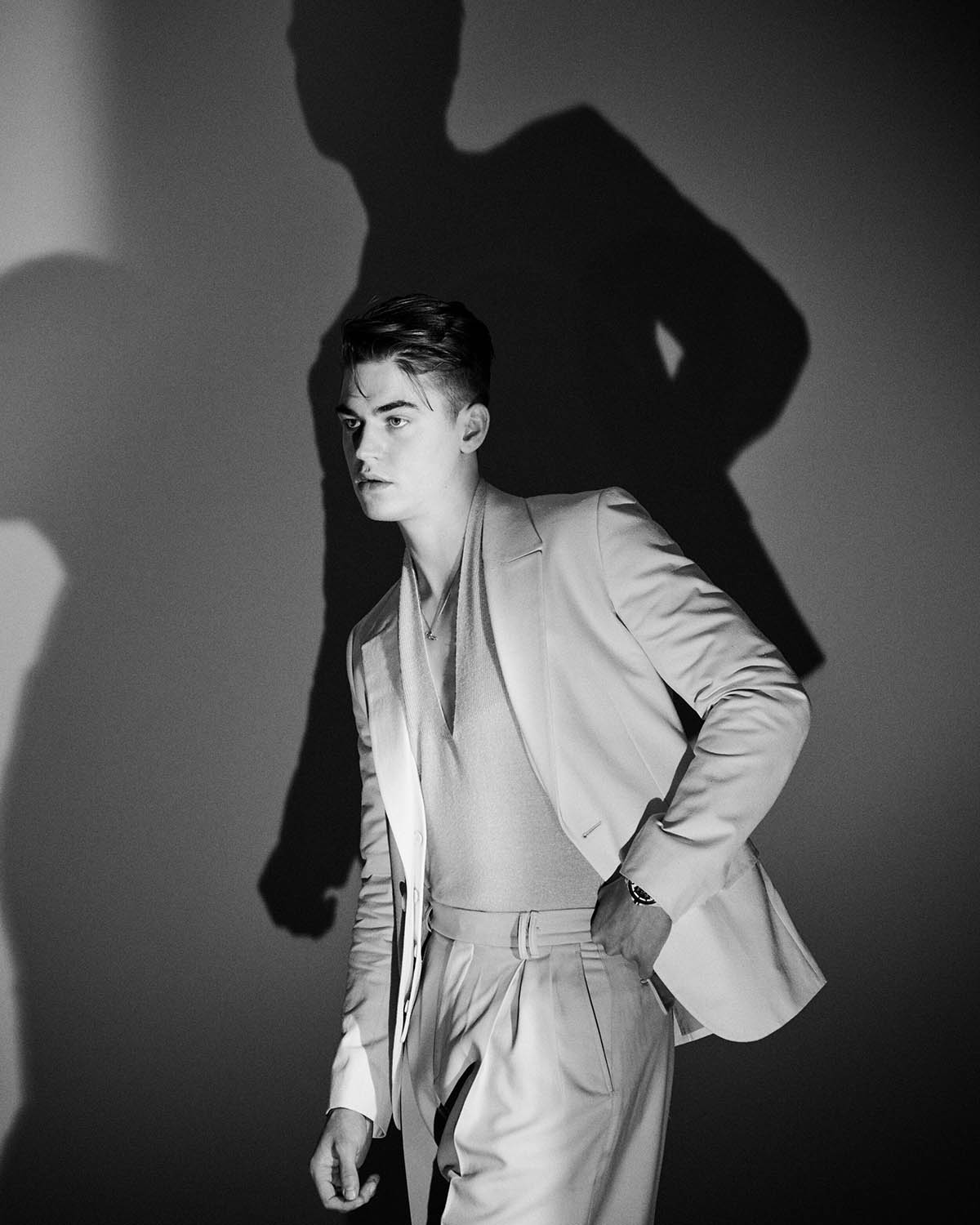 Hero Fiennes-Tiffin covers Flaunt Magazine Issue 173 by Jason Hetherington