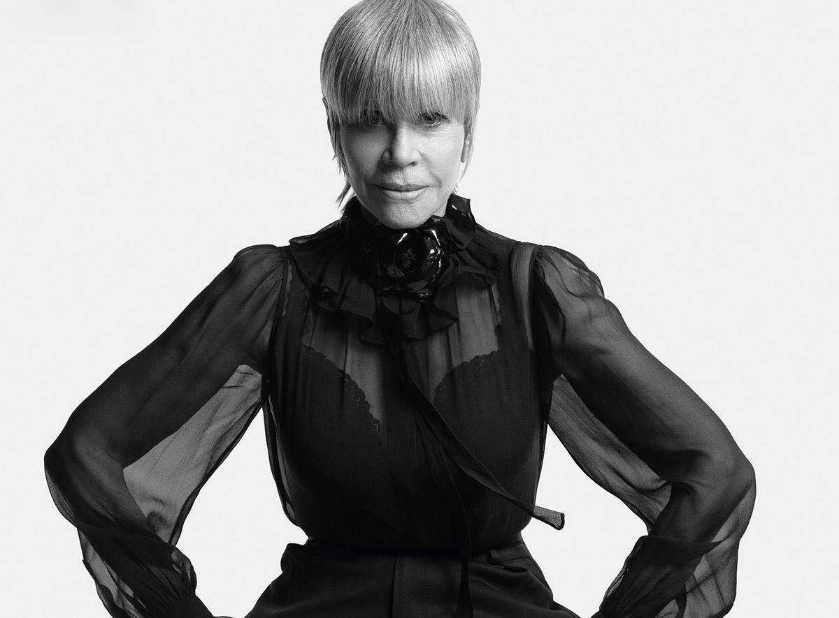 Jane Fonda covers Harper's Bazaar US April 2021 by Mario Sorrenti