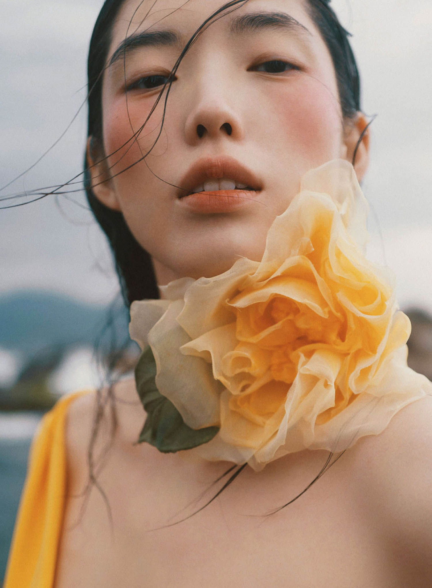 Jessie Hsu by Zhong Lin for Marie Claire US April 2021