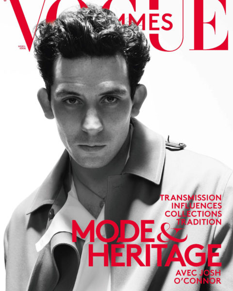Josh O'Connor covers Vogue Hommes Spring Summer 2021 by David SimsJosh O'Connor covers Vogue Hommes Spring Summer 2021 by David Sims