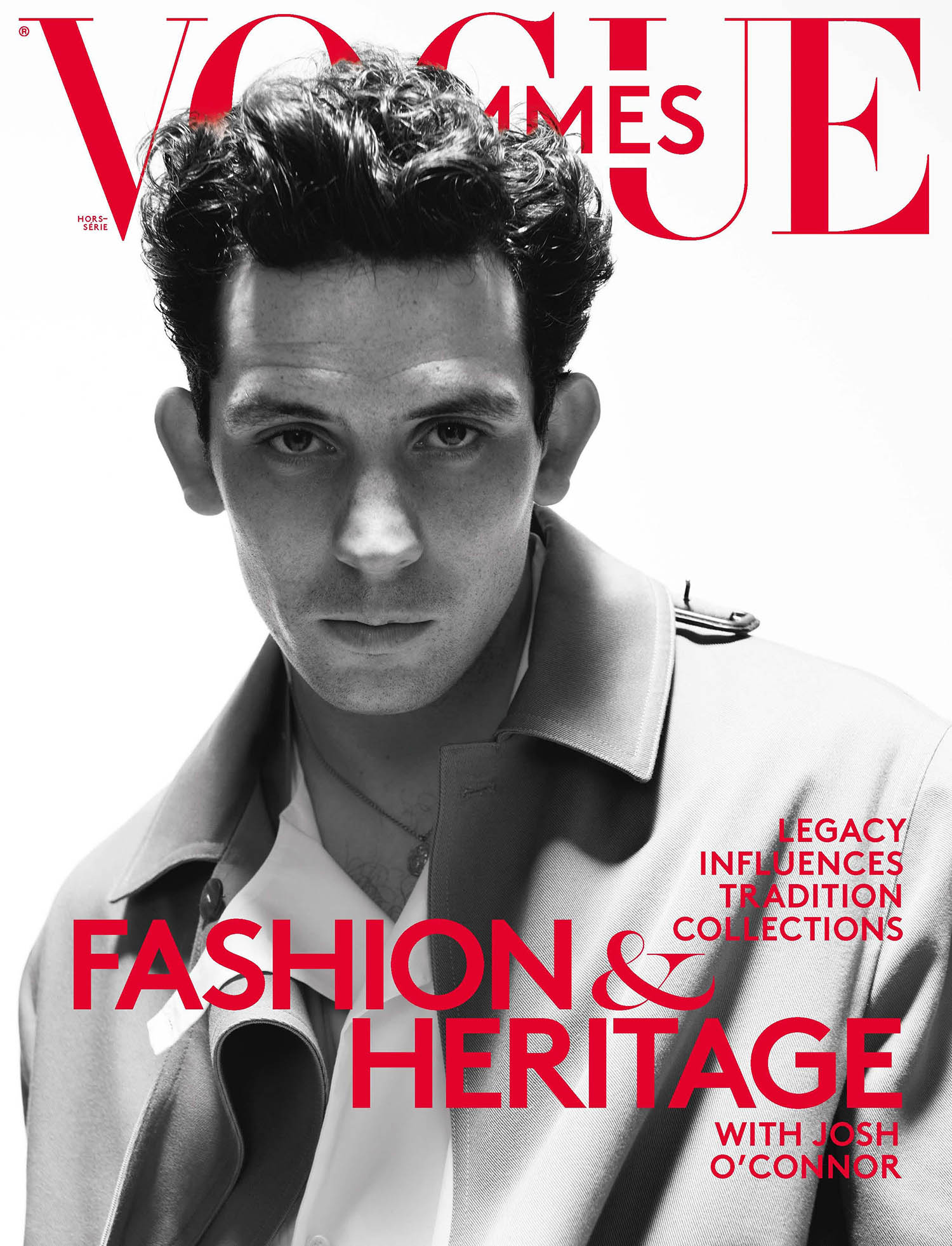 Josh O'Connor covers Vogue Hommes Spring Summer 2021 by David Sims
