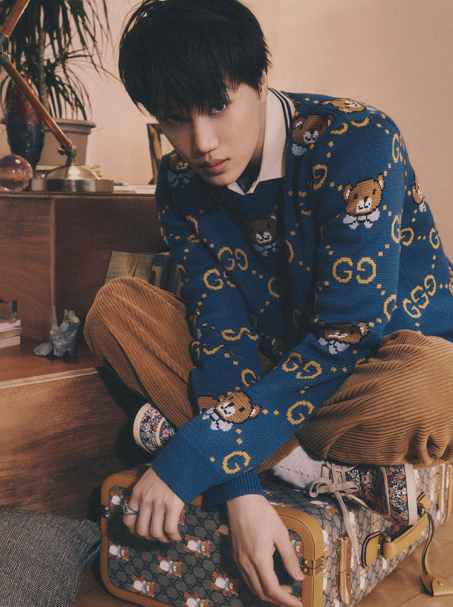 Kai by Go Wontae for Esquire Singapore April 2021