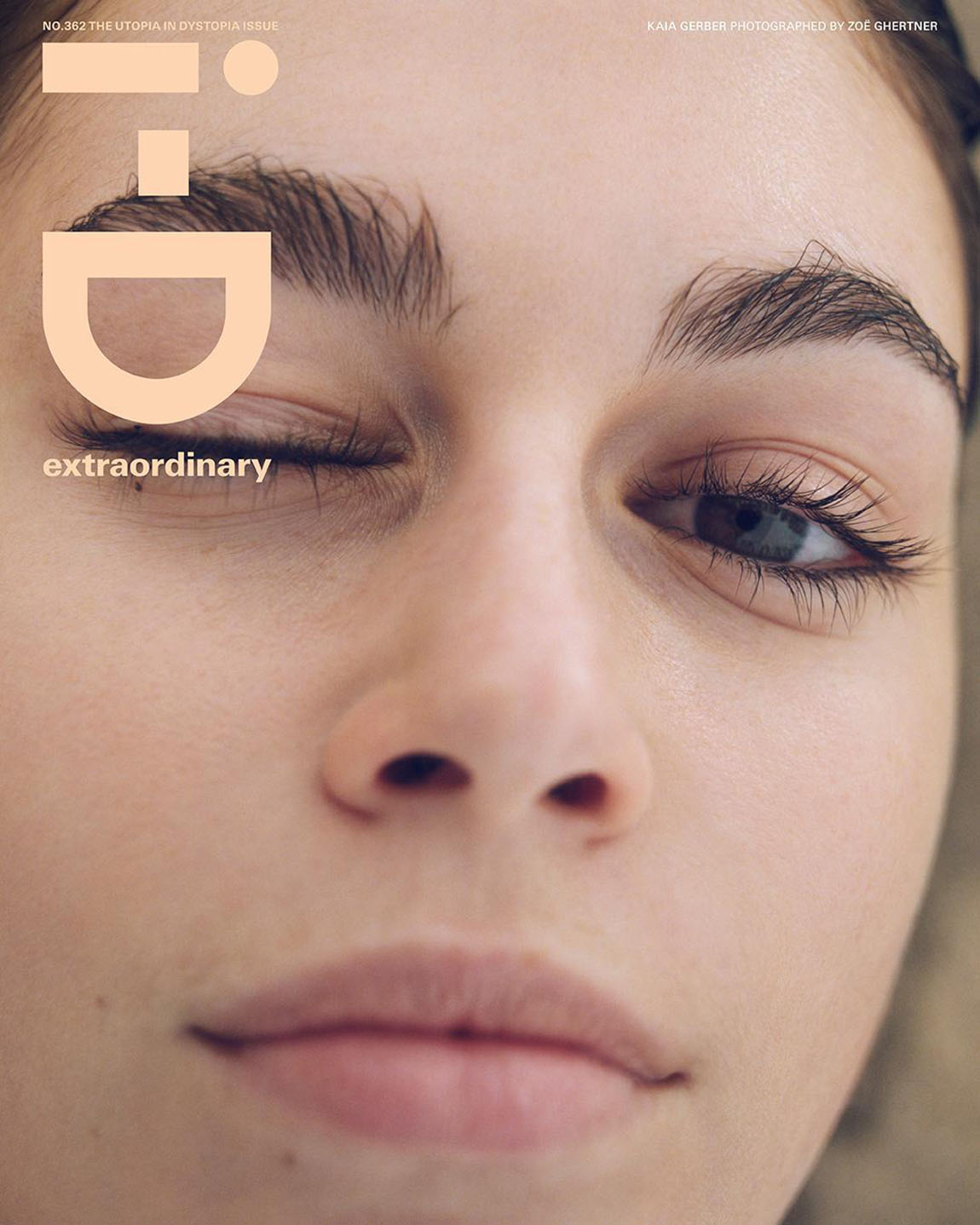 Kaia Gerber covers i-D Magazine Issue 362 by Zoë Ghertner
