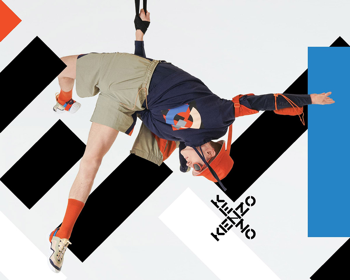 Kenzo Sport Spring Summer 2021 Campaign