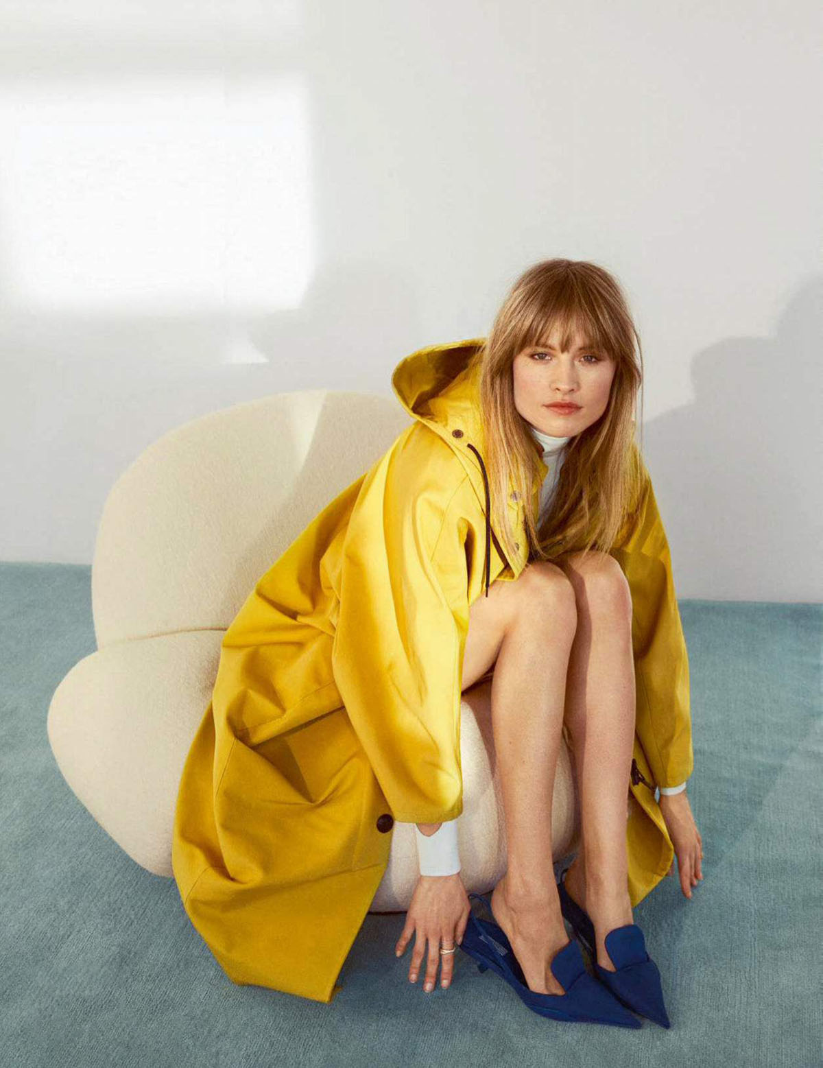 Klara Kristin covers Elle France April 23rd, 2021 by Ceen Wahren