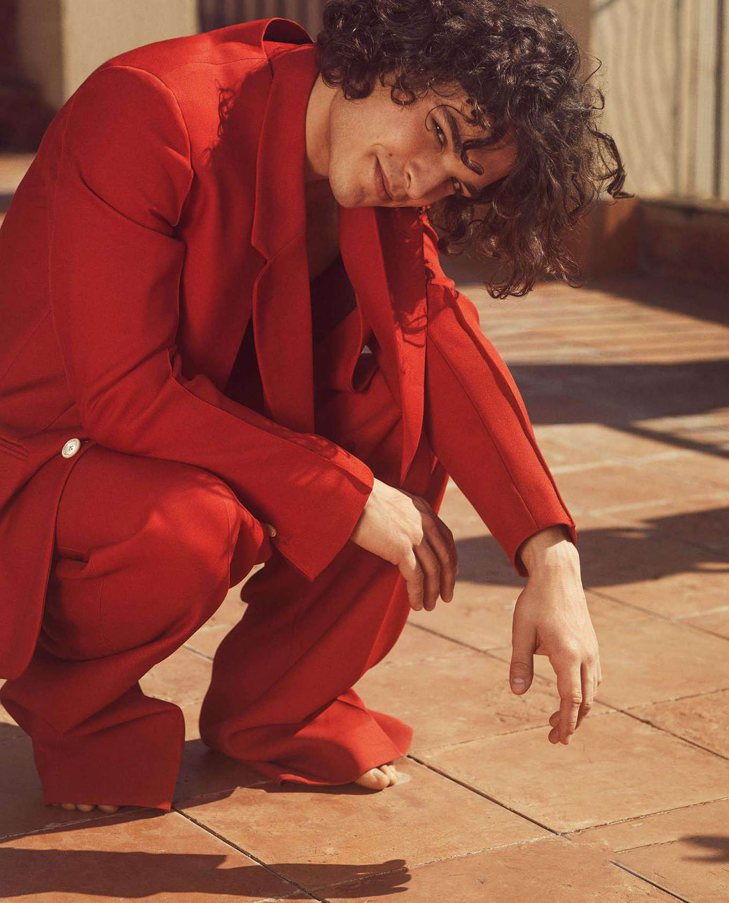 Leo Gassmann by Laura Sciacovelli for Icon Italia Issue 65