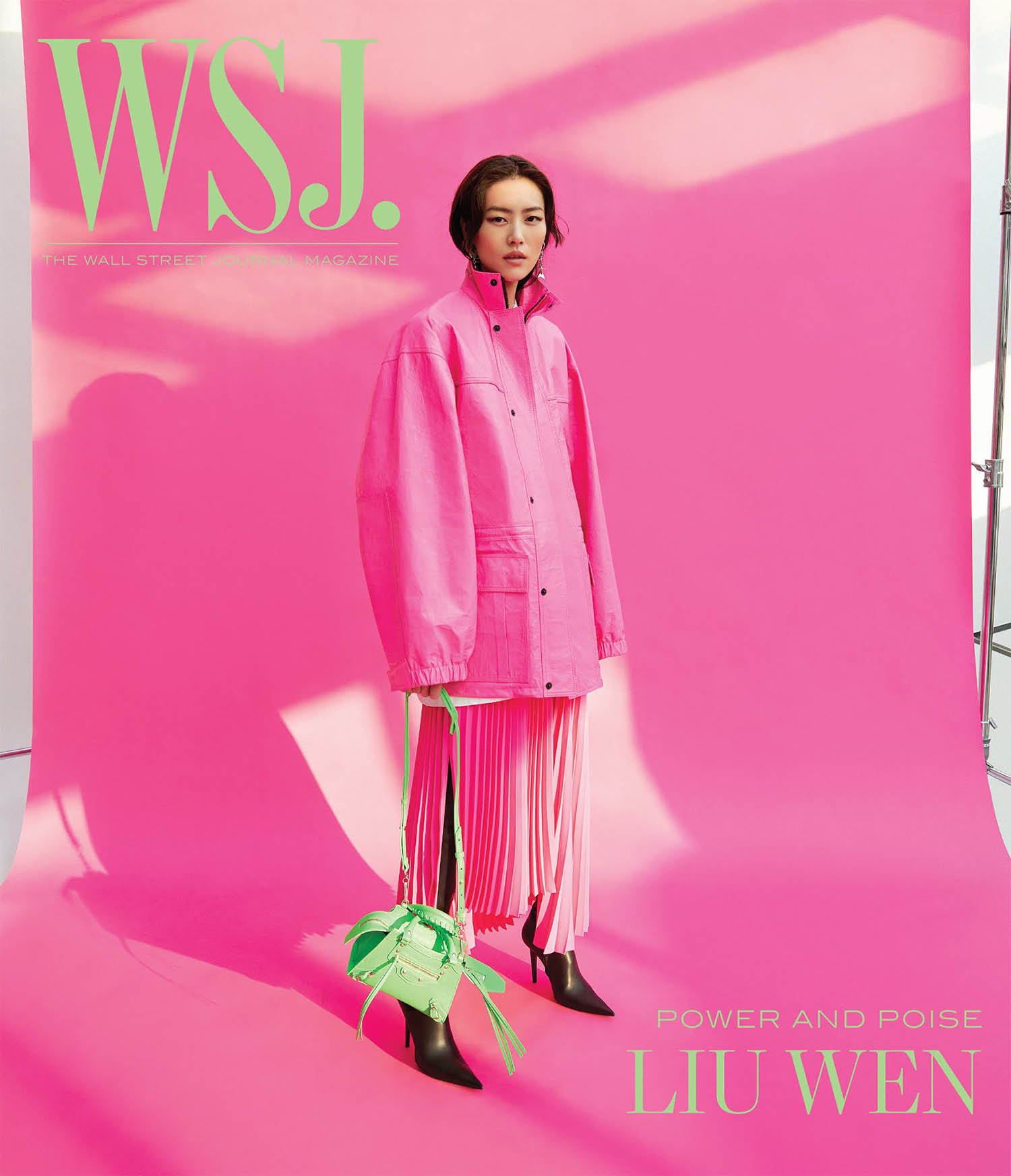 Liu Wen covers WSJ. Magazine April 2021 Digital Edition by Yuan Gui Mei