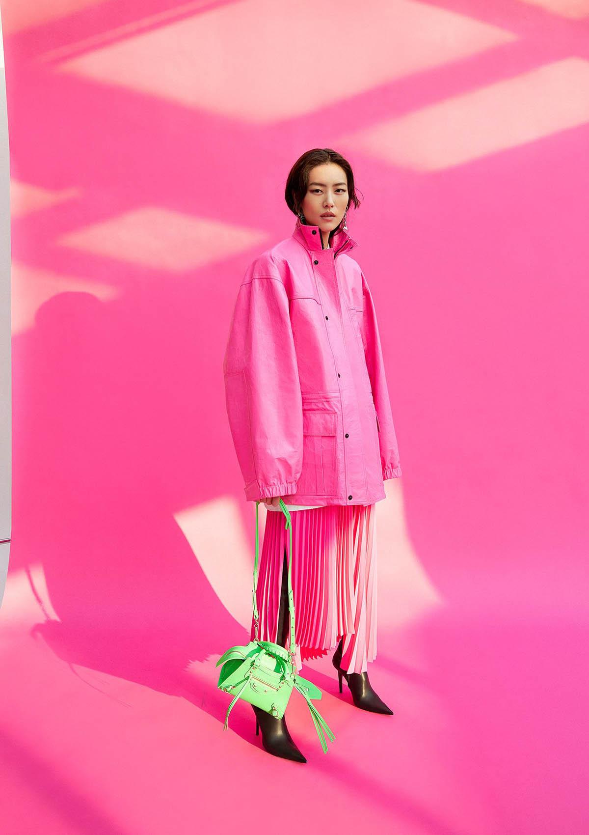 Liu Wen covers WSJ. Magazine April 2021 Digital Edition by Yuan Gui Mei