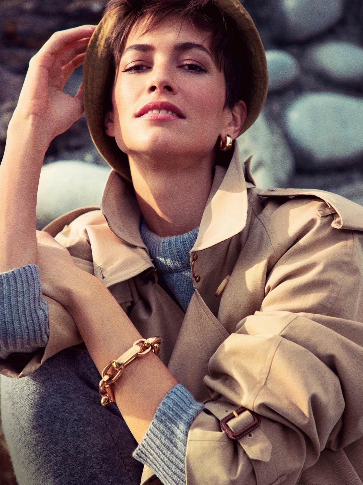 Louise de Chevigny and Malika Louback by Inez and Vinoodh for Vogue Paris February 2021