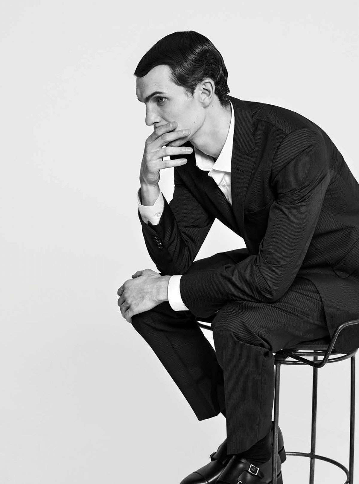 Luc Defont-Saviard by Joseph Degbadjo for GQ Mexico & Latin America April 2021