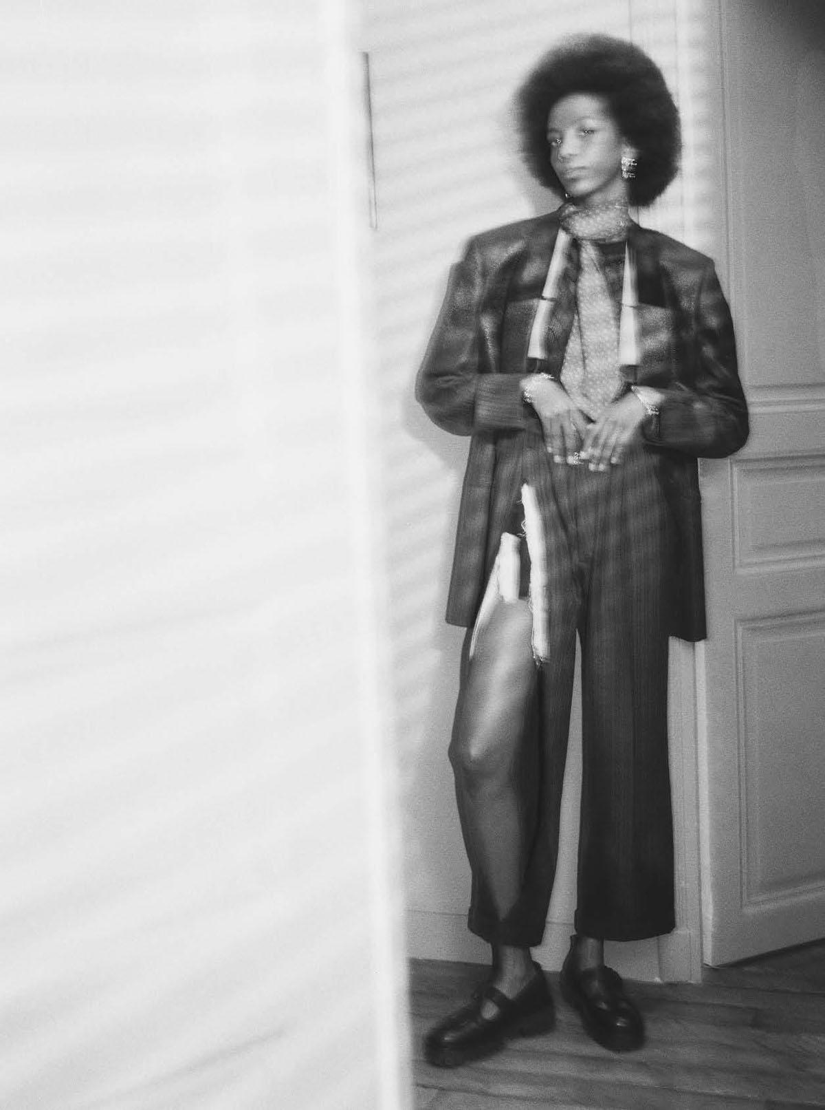Malika Louback, Amar Akway and Skarla Ali cover Vogue Italia April 2021 by Malick Bodian