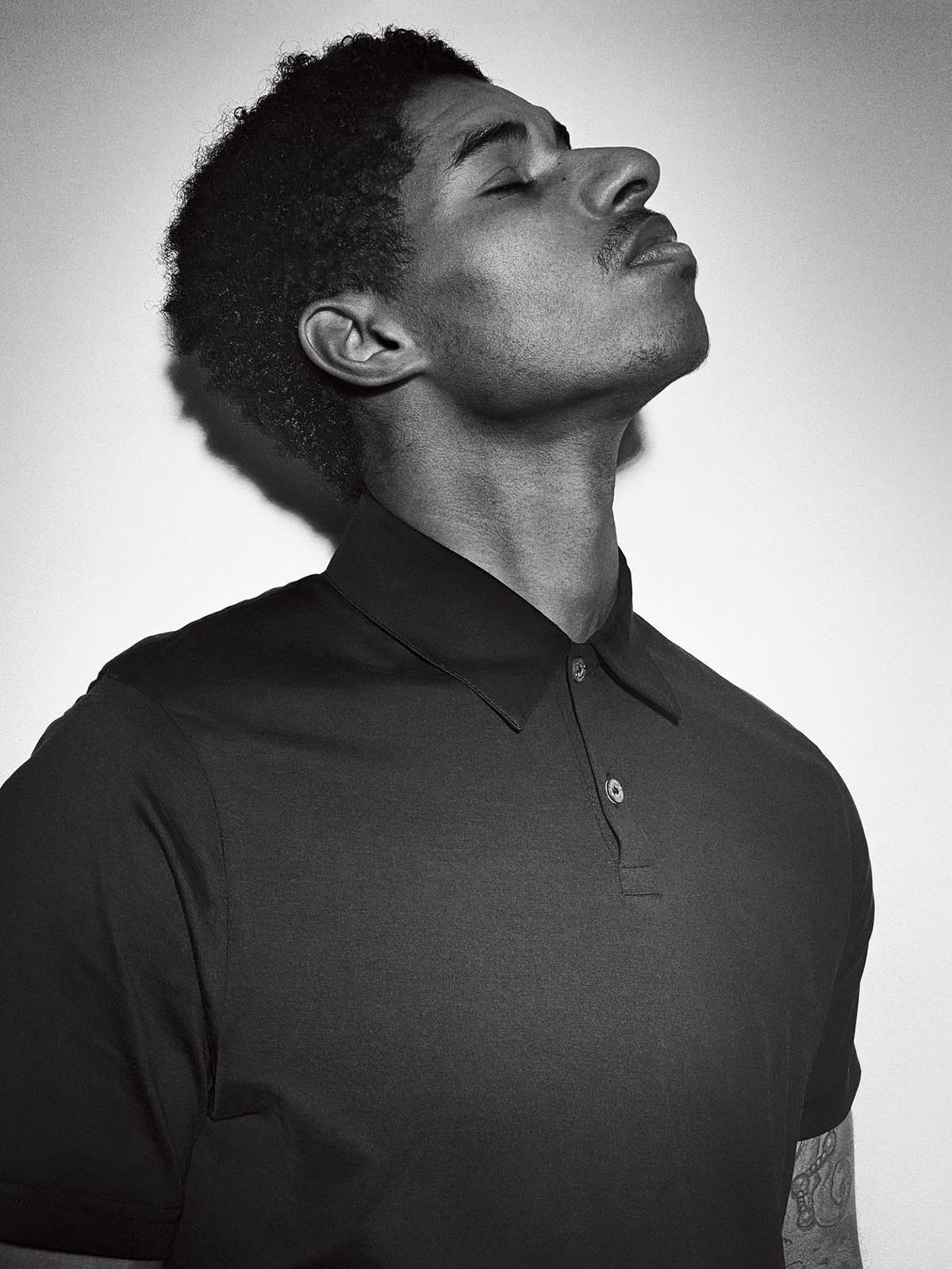 Marcus Rashford covers WSJ. Magazine Spring 2021 Men's Style by Inez and Vinoodh