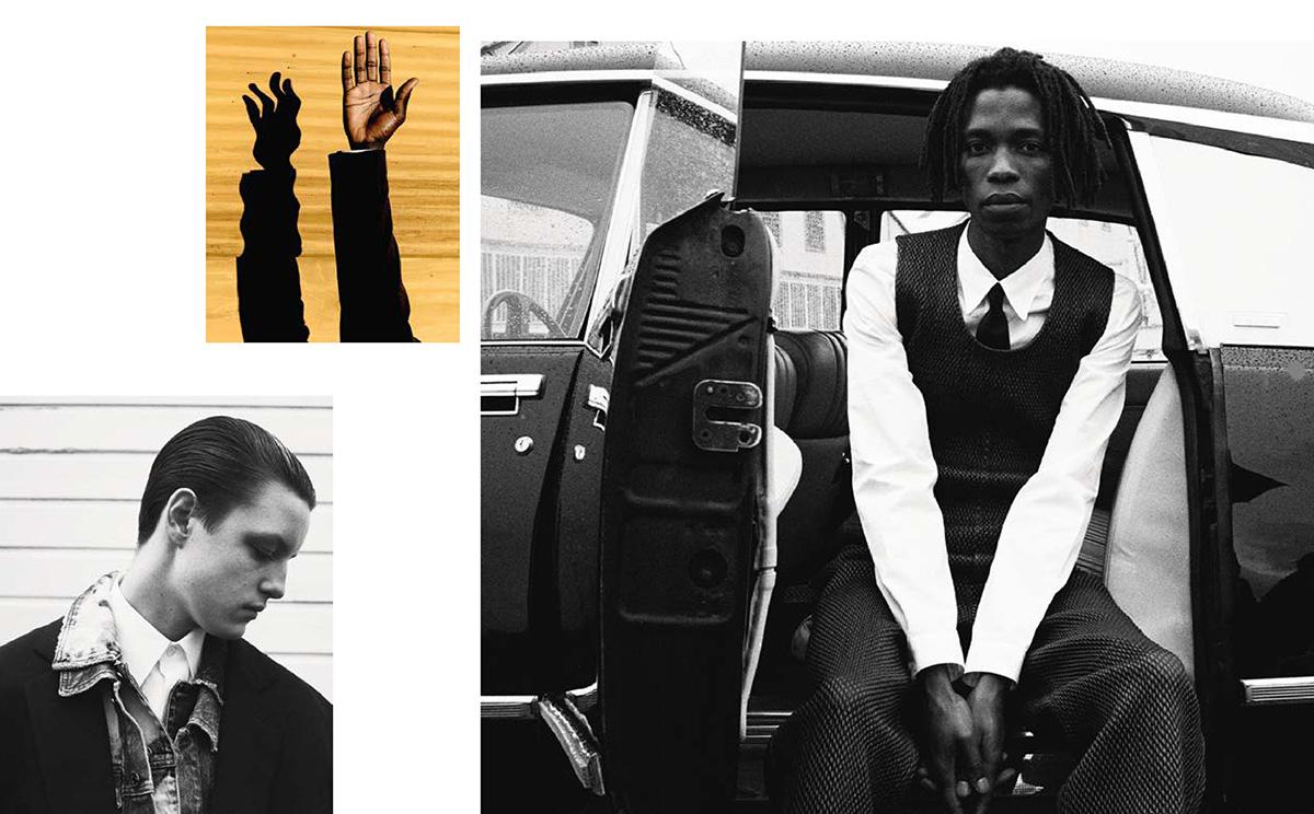 ''Masculine Plural'' by Jack Davison for M Le magazine du Monde April 10th, 2021