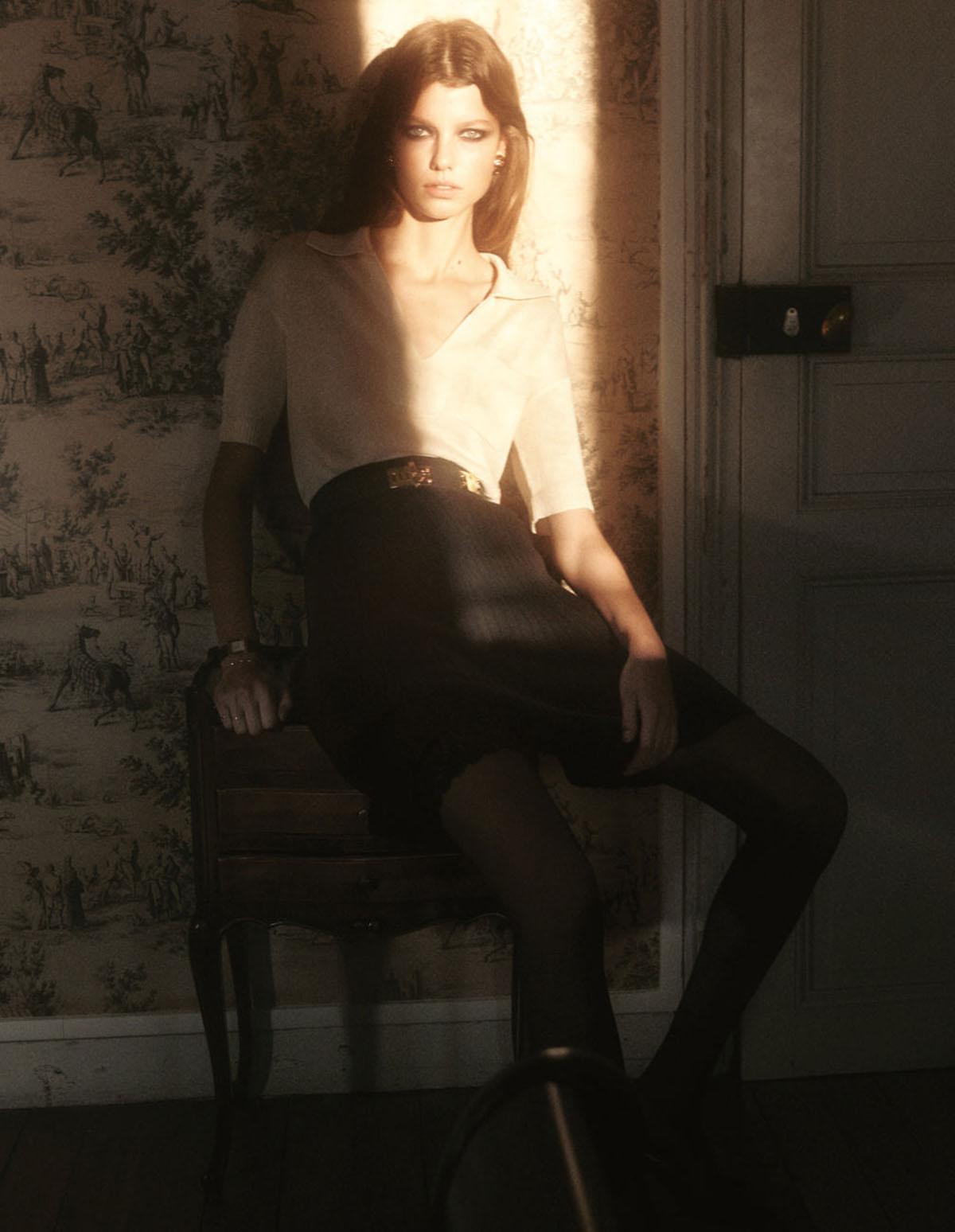 Mathilde Henning by Robin Galiegue for Vogue Paris February 2021