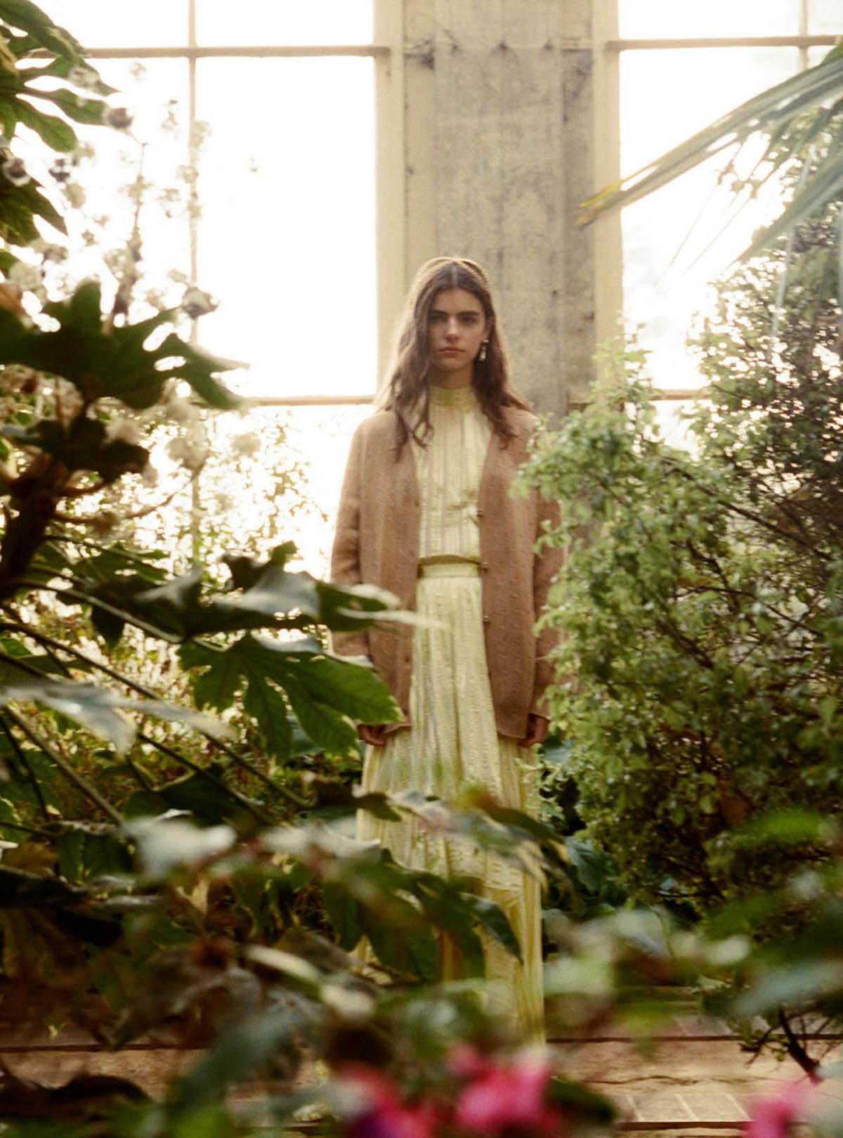 Maya Gunn by Ina Lekiewicz for Harper's Bazaar UK April 2021