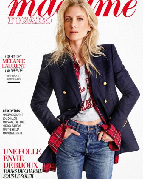 Mélanie Laurent covers Madame Figaro April 30th, 2021 by Xavi Gordo