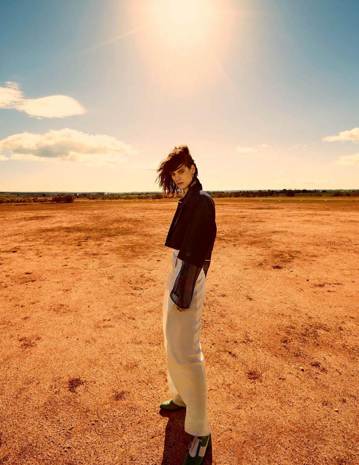 Miriam Sanchez by Miguel Reveriego for Vogue Spain April 2021