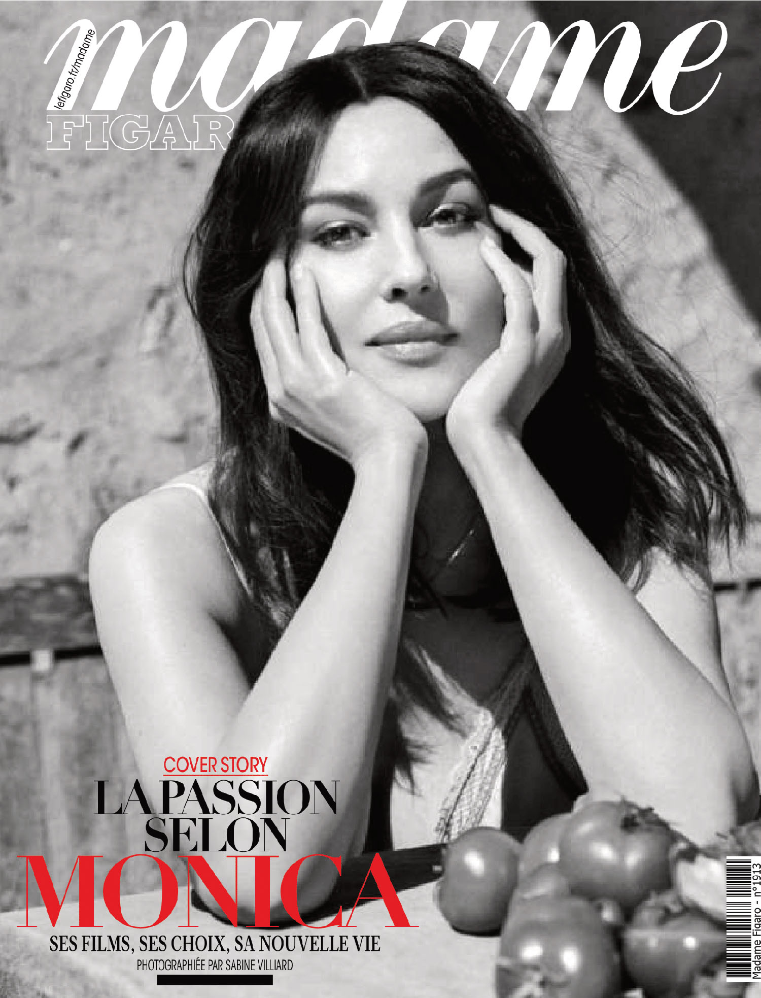 Monica Bellucci covers Madame Figaro April 23rd, 2021 by Sabine Villiard