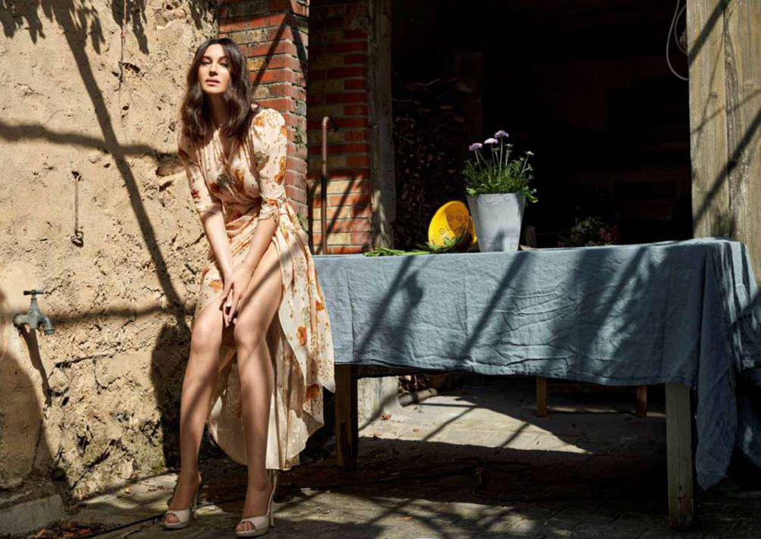 Monica Bellucci covers Madame Figaro April 23rd, 2021 by Sabine Villiard