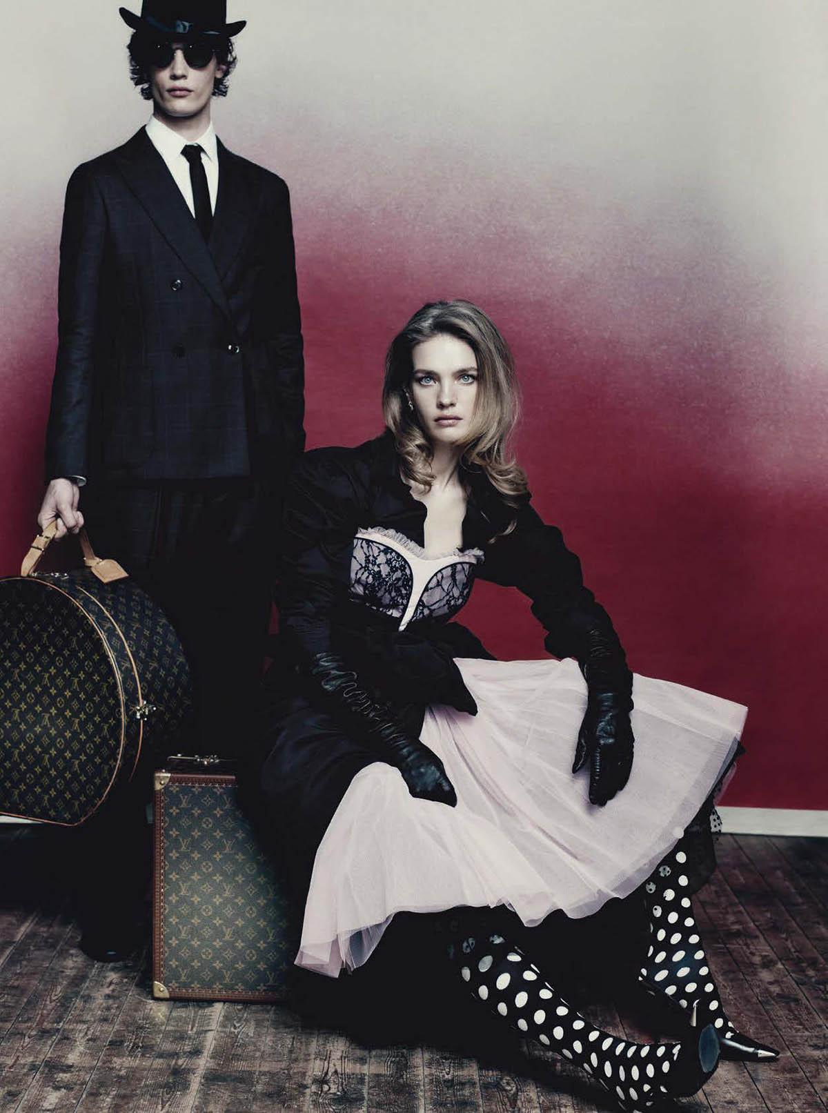 Natalia Vodianova covers Vogue Italia April 2021 by Paolo Roversi