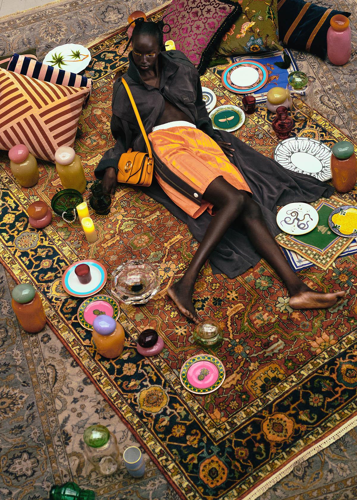 Niko Riam by Turkina Faso for Vogue China April 2021