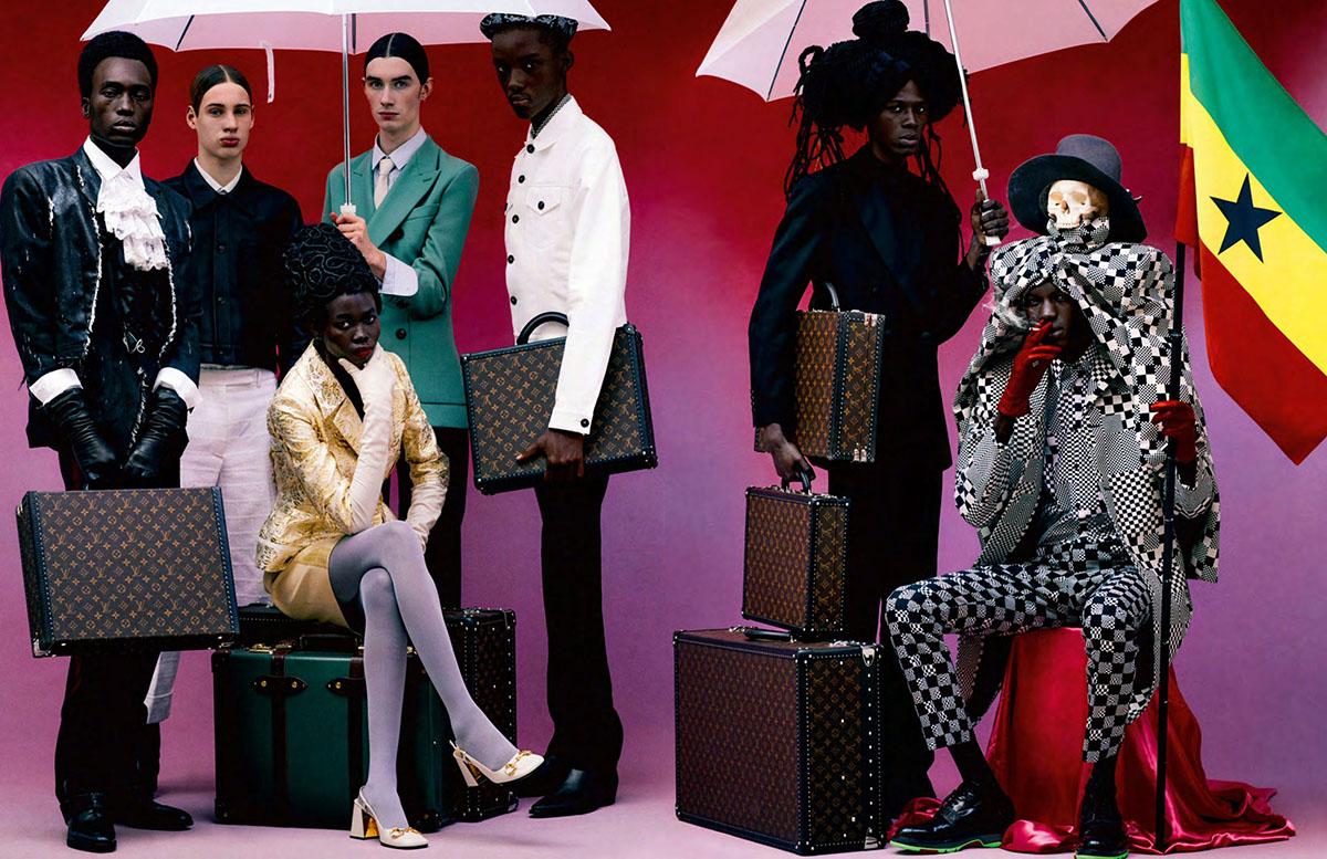 ''Nomads'' by Rafael Pavarotti for Vogue Hommes Spring Summer 2021