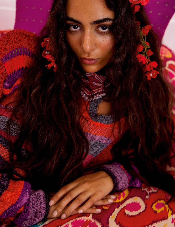 Nora Attal covers Vogue Paris April 2021 by Inez and Vinoodh