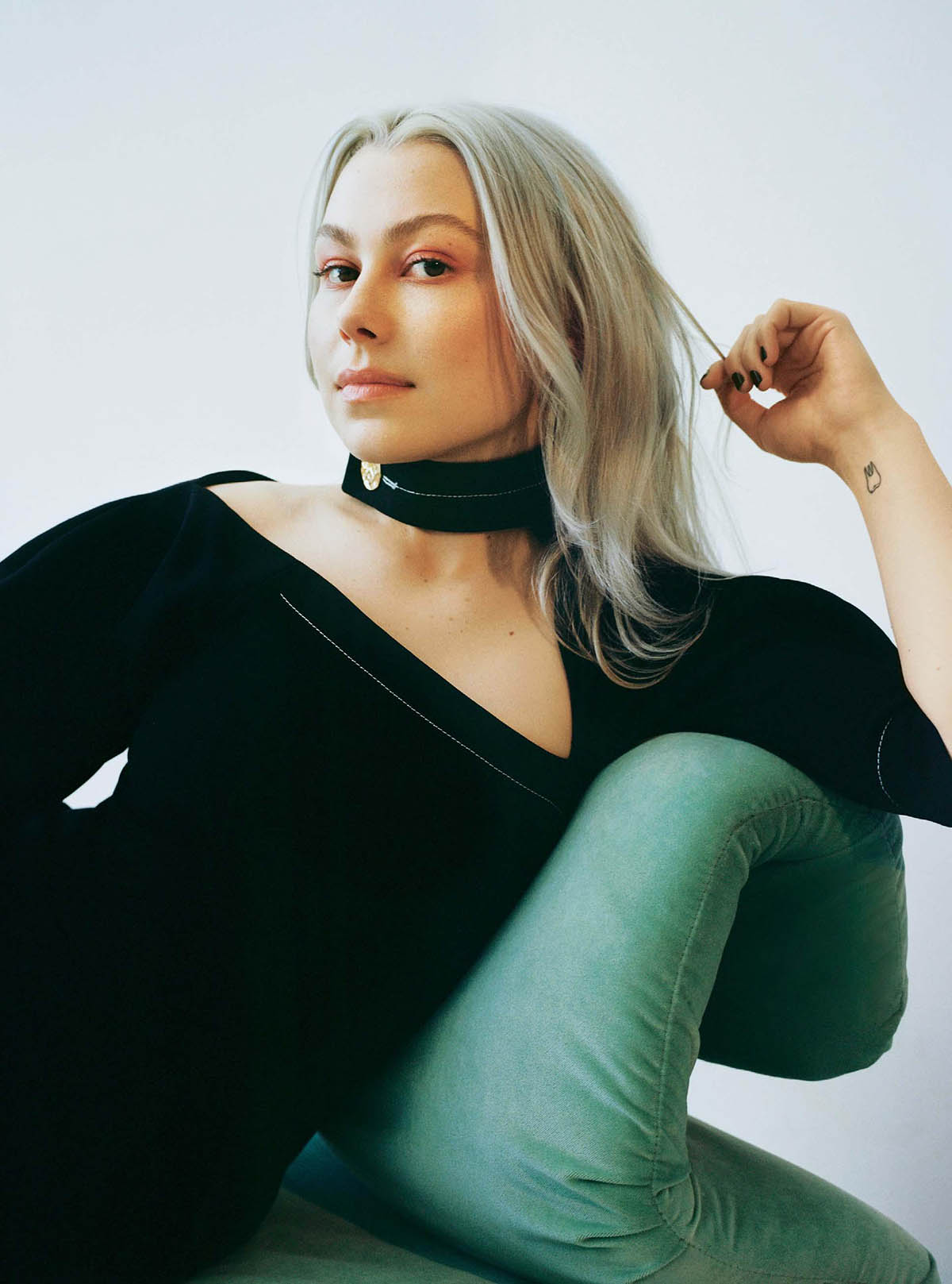 Phoebe Bridgers covers The Sunday Times Style April 11th, 2021 by Olivia Malone