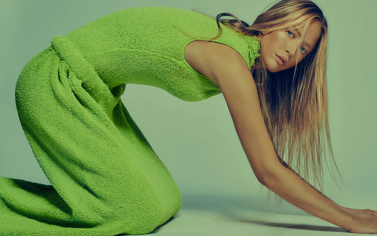 Raquel Zimmermann covers Vogue Korea April 2021 by Chris Colls