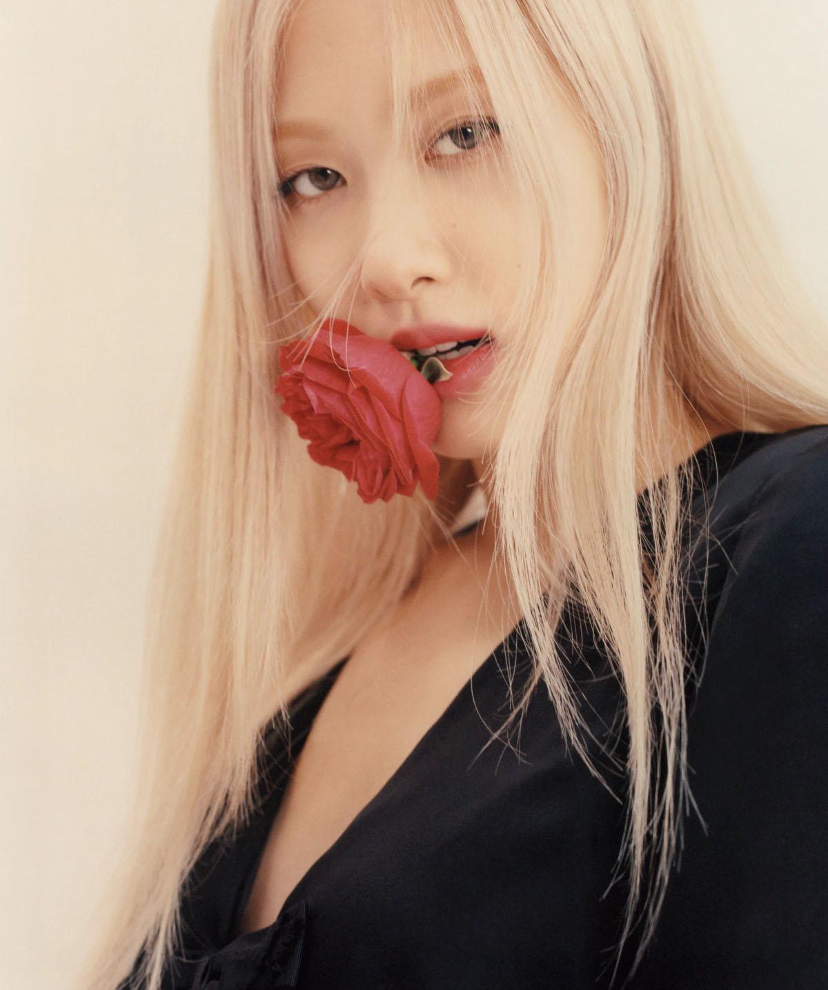 Rosé covers Vogue Australia April 2021 by Peter Ash Lee