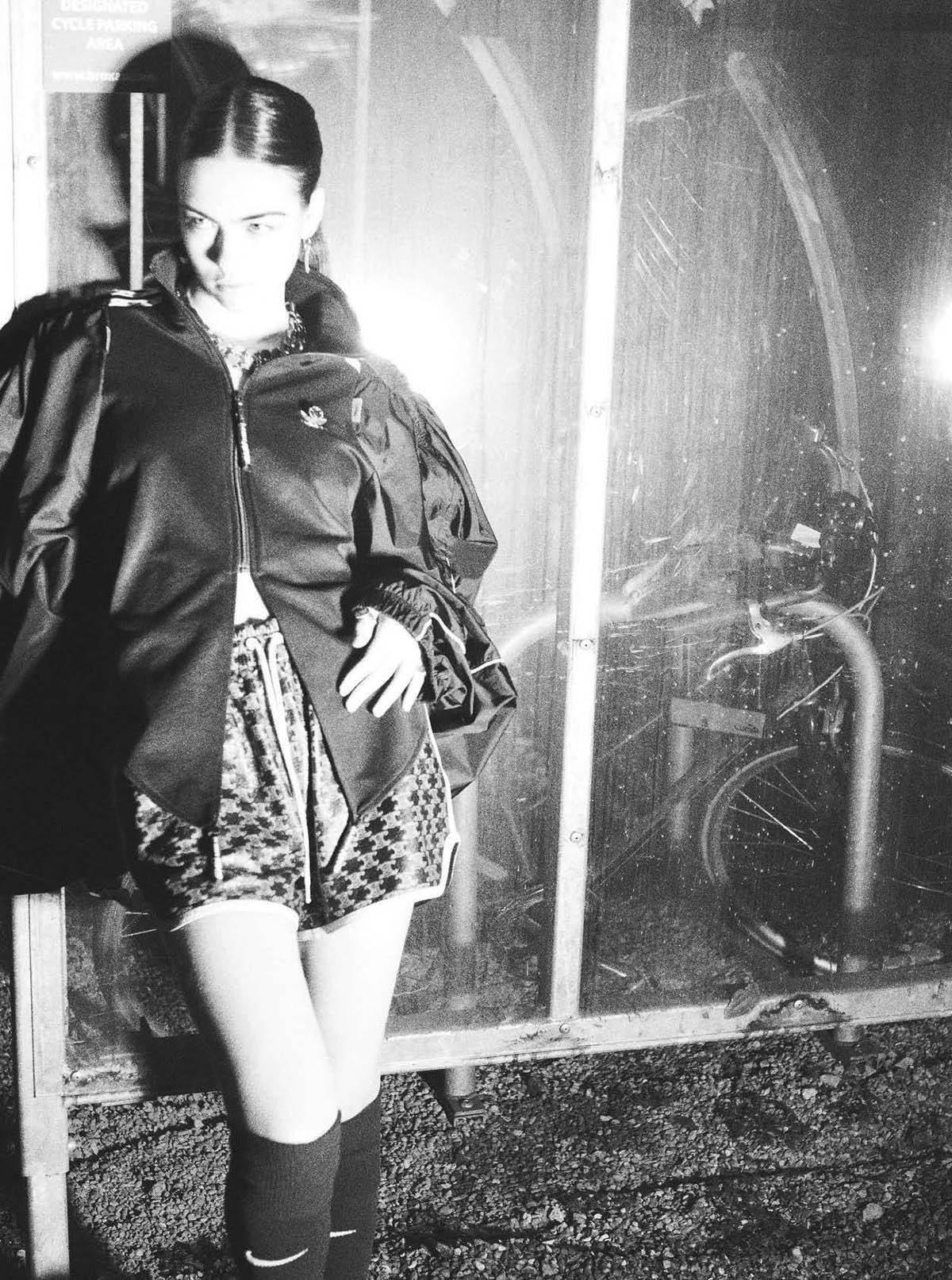 Stella Jones covers Vogue Italia April 2021 by David Sims