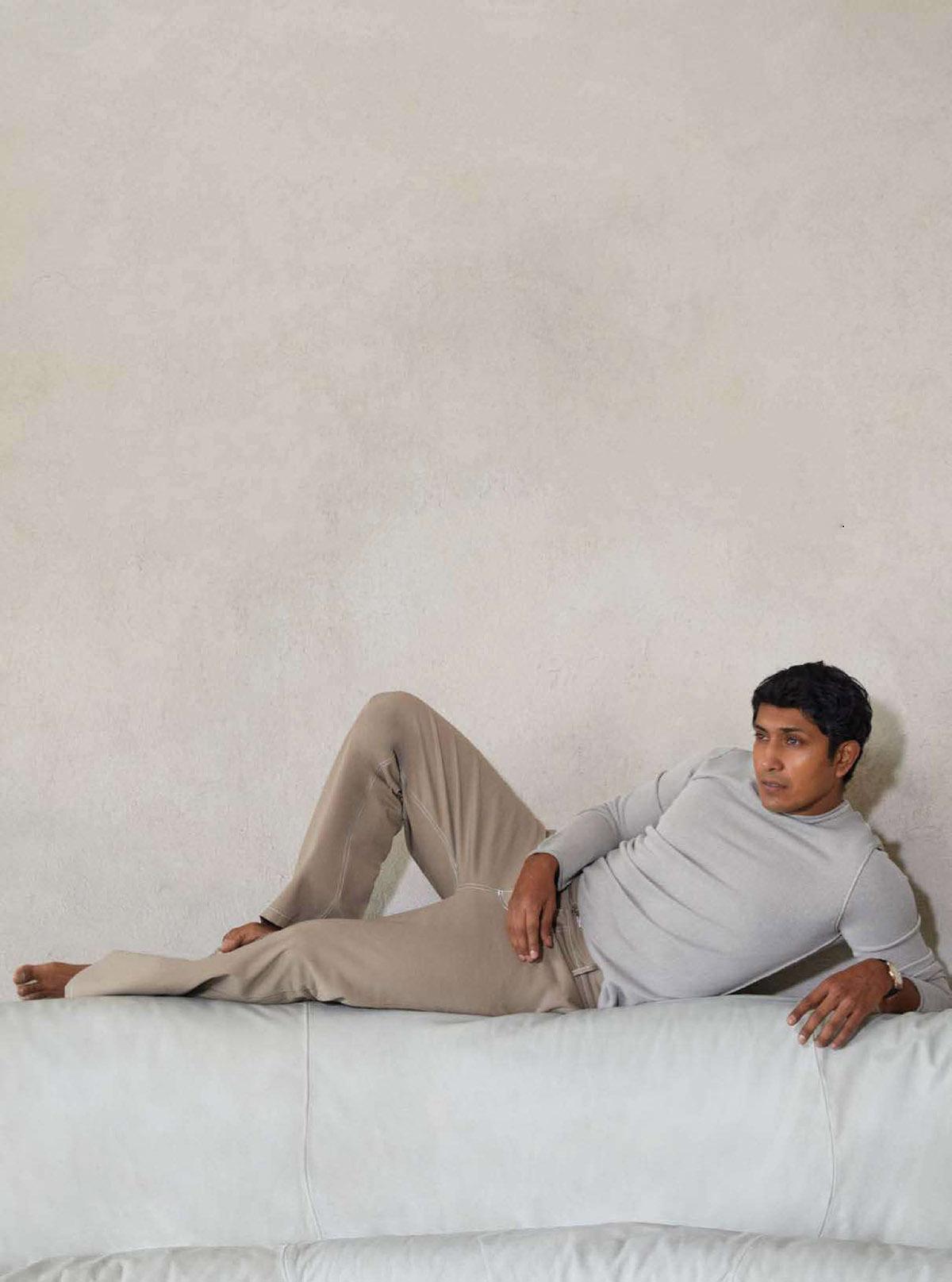 Tenoch Huerta covers GQ Style Mexico & Latin America Spring Summer 2021 by Gustavo García-Villa