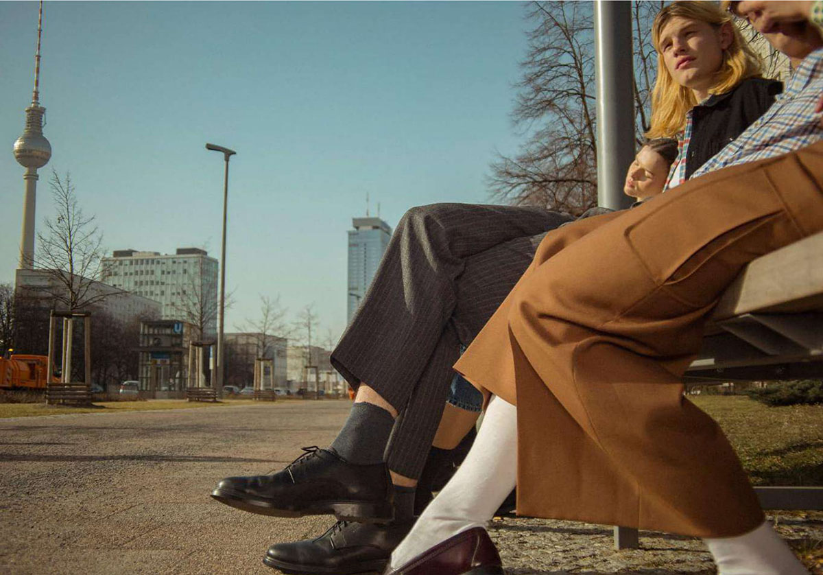 ''The Lovers from Berlin'' by Niv Shank for Icon Italia Issue 65