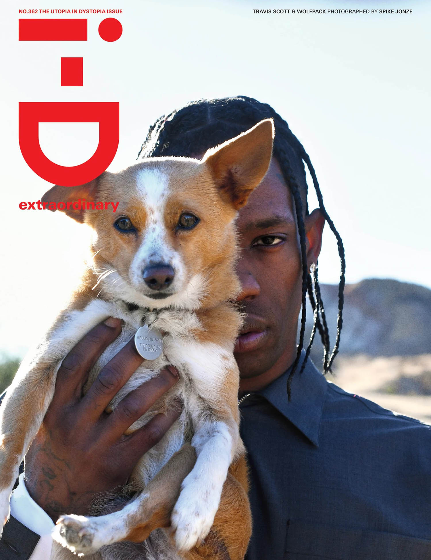 Travis Scott covers i-D Magazine Issue 362 by Spike Jonze