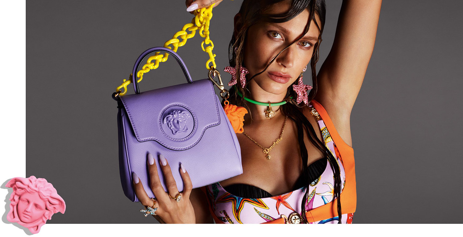 Versace presents the new La Medusa Accessories Line